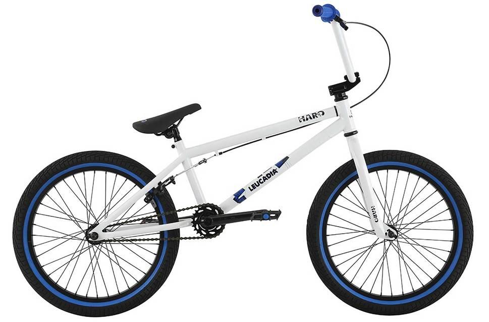 Haro Leucadia White BMX Bike   Harbour Cycles   Servicing   Refurbs ...