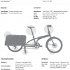 Official specs image of Xtracycle Node Cargo bike for sal